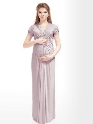 Сукня для вагітних бежева | 5770559