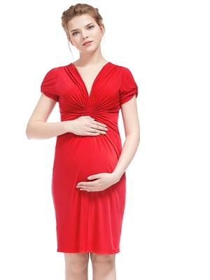 Сукня для вагітних червона | 5770564