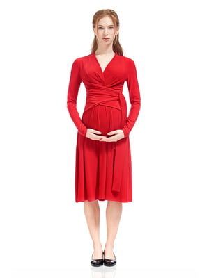 Сукня для вагітних червона | 5770570