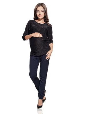 Блуза для беременных черная   5770602