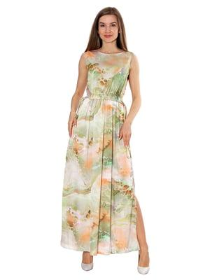 Сукня комбінованого забарвлення | 5770624