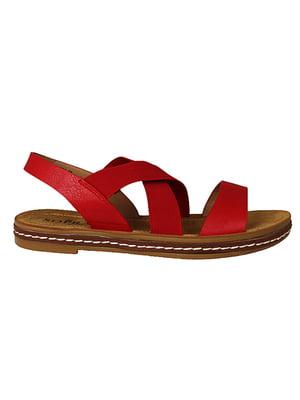 Сандалі червоні | 5770736