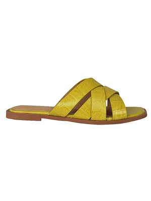 Пантолети жовті | 5770738