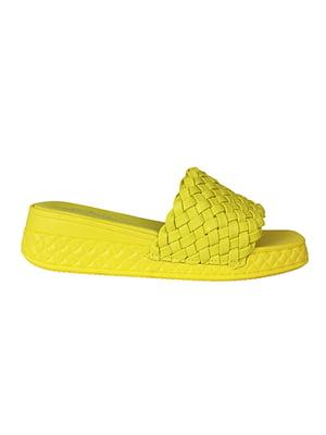 Шльопанці жовті | 5770741