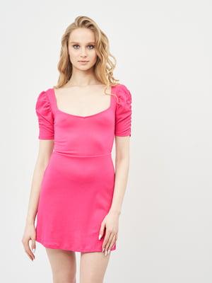 Платье розовое | 5770869