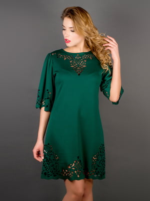 Платье зеленое | 5772657
