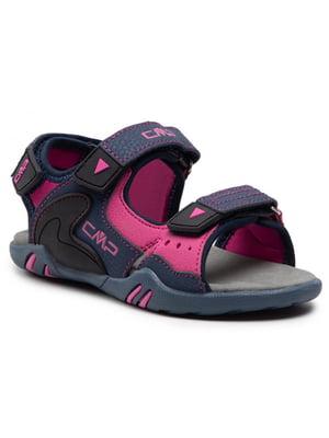 Сандалии синие Alphard Hiking Sandal 39Q9614-28MG | 5738435