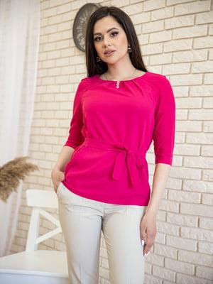 Блуза малинового цвета   5772736