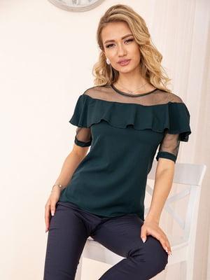 Блуза зеленая | 5772767