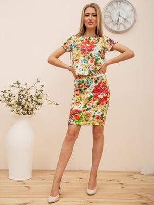 Костюм: блуза и юбка   5772919
