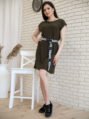 Платье цвета хаки | 5773213