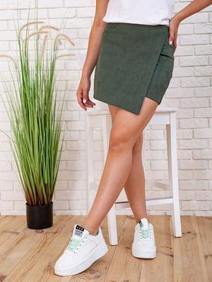 Юбка-шорты зеленая | 5773536