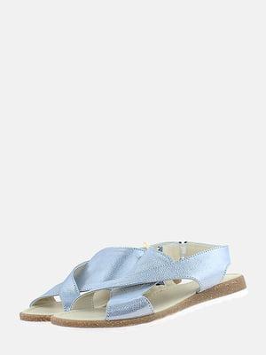 Сандалії блакитні | 5768172