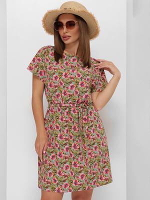 Платье в цветочный принт   5773770
