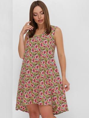 Платье в цветочный принт   5773778