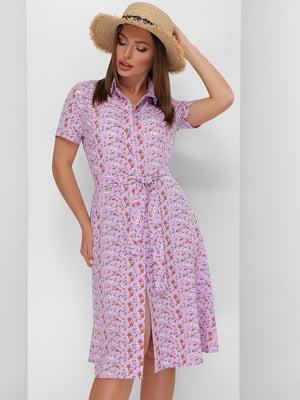 Платье в цветочный принт | 5773781