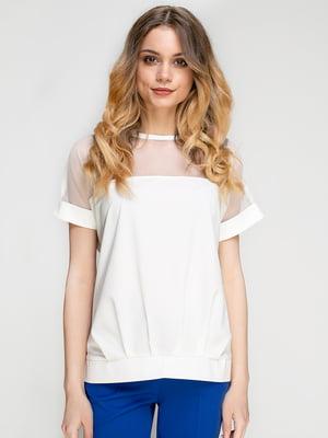 Блуза молочного цвета | 5772070