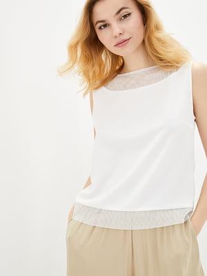 Блуза молочного цвета | 5772076