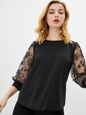 Блуза чорна   5772077