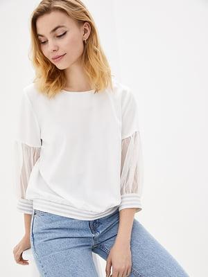 Блуза молочного цвета | 5772079