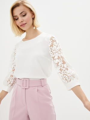 Блуза молочного цвета | 5772082