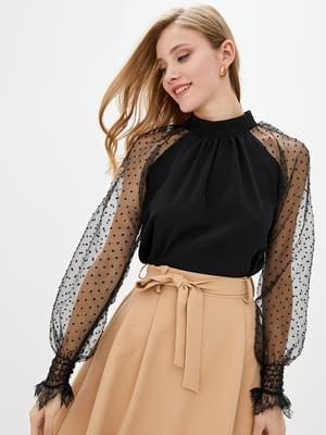 Блуза черная | 5772100