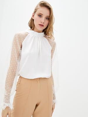 Блуза молочного цвета | 5772101