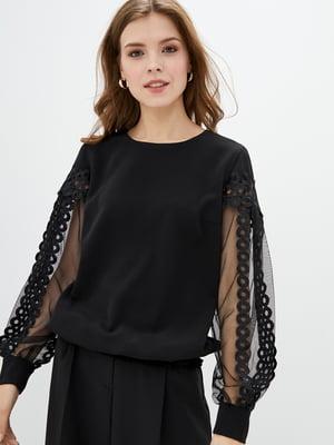 Блуза чорна | 5772102