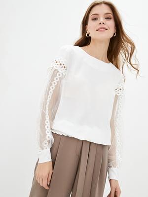 Блуза молочного цвета | 5772103