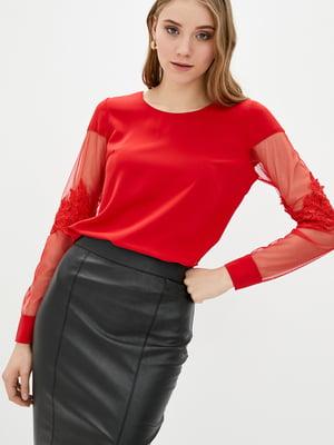 Блуза червона   5772112