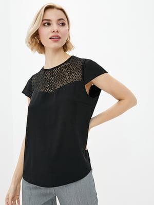 Блуза черная | 5772132