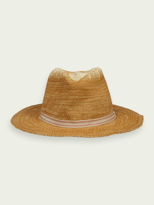 Шляпа светло-коричневая   5771095