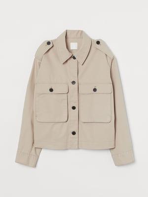 Куртка бежева | 5774382