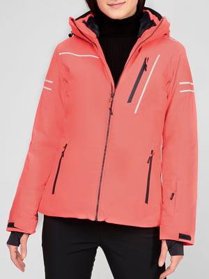 Куртка лыжная розовая | 5608059
