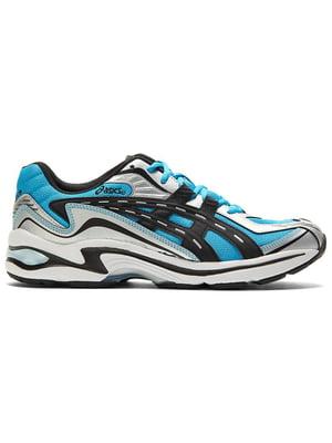 Кроссовки серо-голубые Gel-Preleus 1201A084-408   5771840