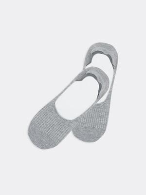 Носки-следы серые | 5774903