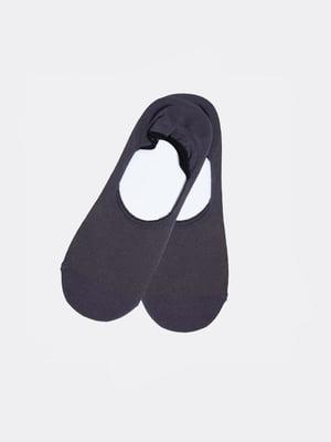 Шкарпетки-сліди сірі | 5774904
