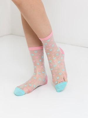 Носки двухцветные | 5774908
