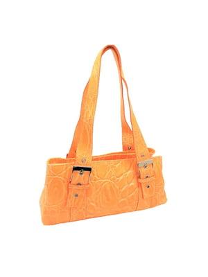 Сумка оранжевого цвета   5773757