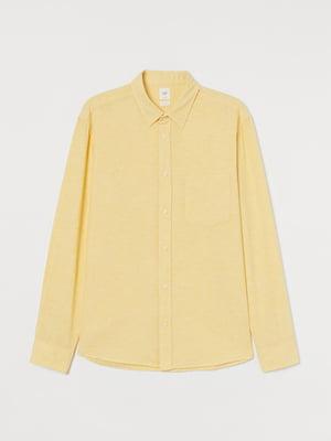 Рубашка желтая   5774135