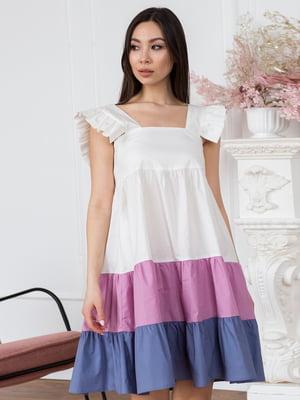 Платье трехцветное - Leo Pride - 5775264
