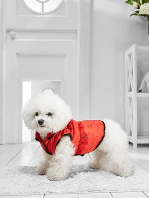 Жилет для собак середніх порід червоний   5775750