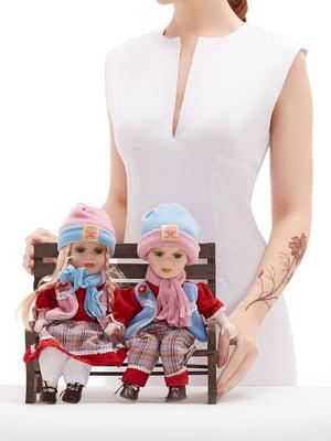 Набор: 2 куклы и скамья | 5776045