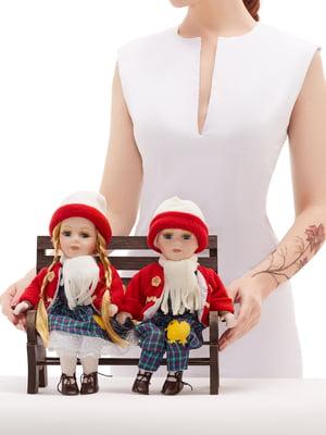 Набор: 2 куклы и скамья | 5776070
