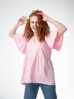 Блуза пудрового кольору | 5776838
