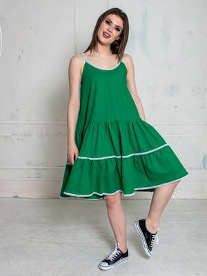 Сарафан зелений | 5776905