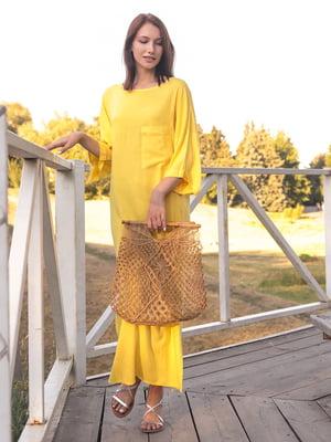 Платье желтое | 5776873