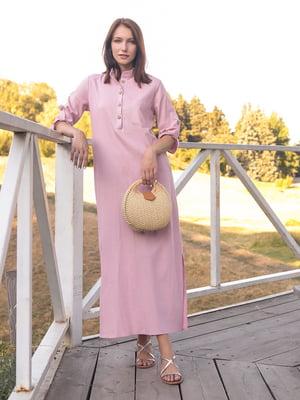 Платье пудрового цвета | 5776885