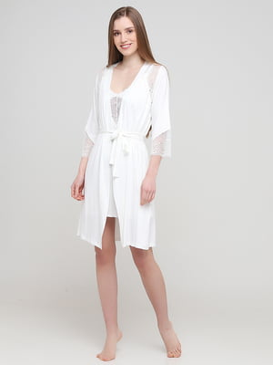 Комплект: халат и рубашка ночная | 5777129