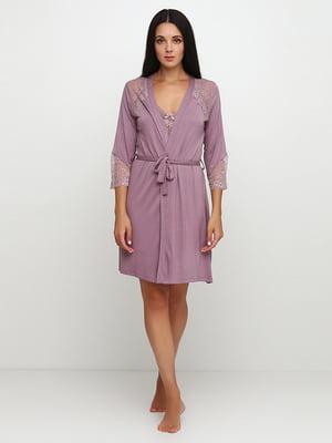 Комплект: халат и рубашка ночная   5777130
